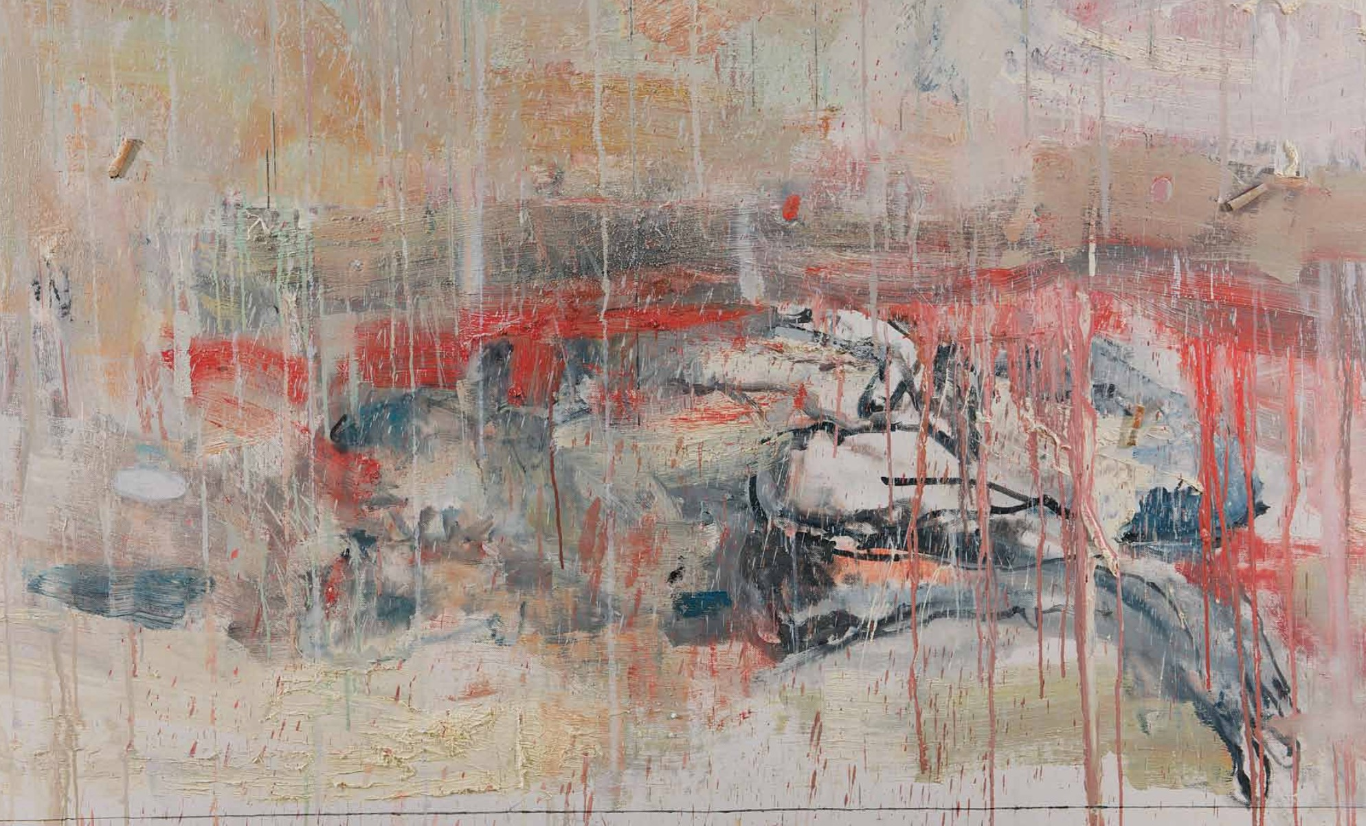 Quel che rimane (particolare) - Cesare Lucchini - Rosenfeld Porcini Art Gallery